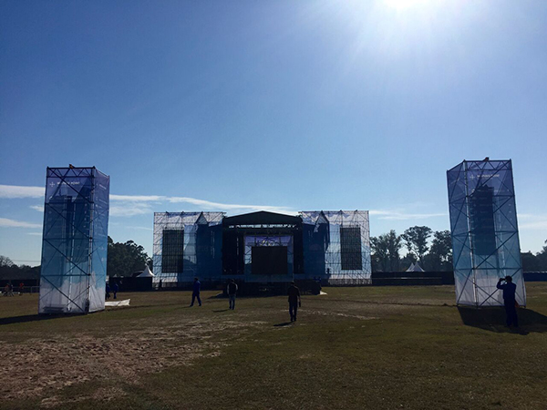 STS and Powersoft at Argentina's Bicentennial Festival