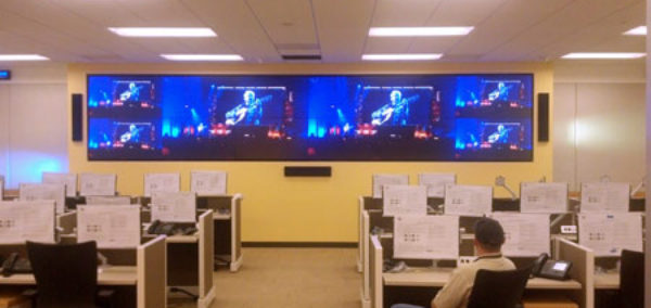 Powersoft Amplifier drives A/V System at Security Operations Center