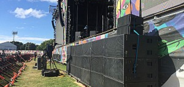Powersoft Out In Force at Lollapalooza Festival in Argentina