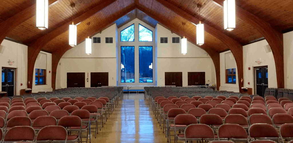 Church of the Presentation relies on Powersoft